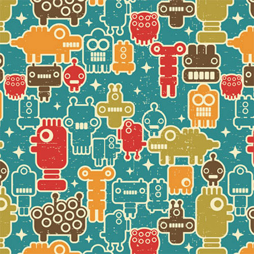seamless patterns with robots