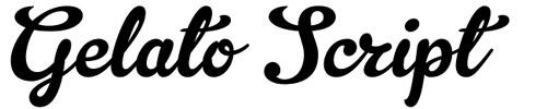 Gelato Script