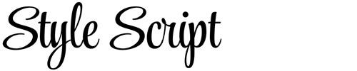 Style Script