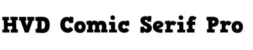 HVD Comic Serif Pro
