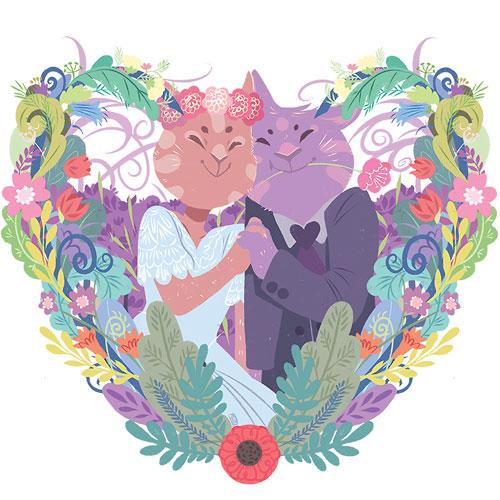 inspiring-wedding-cat
