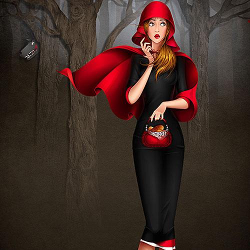 beauty-queen-red-hood