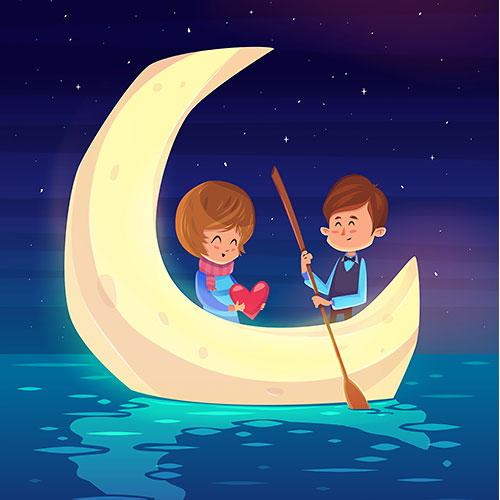 romantic-boat-date