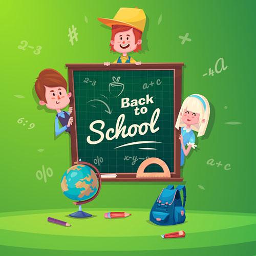 back-to-school-vector