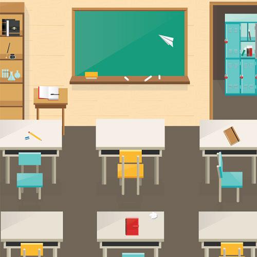 classroom-vector