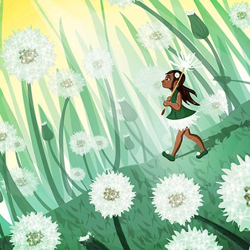 dandelion-girl