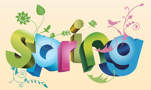 inspiring-spring-vector-collection