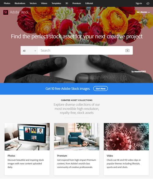 Free Adobe Stock Photos Promotion