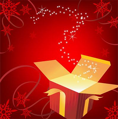 christmas gif surprise