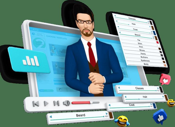 3d avatar builder