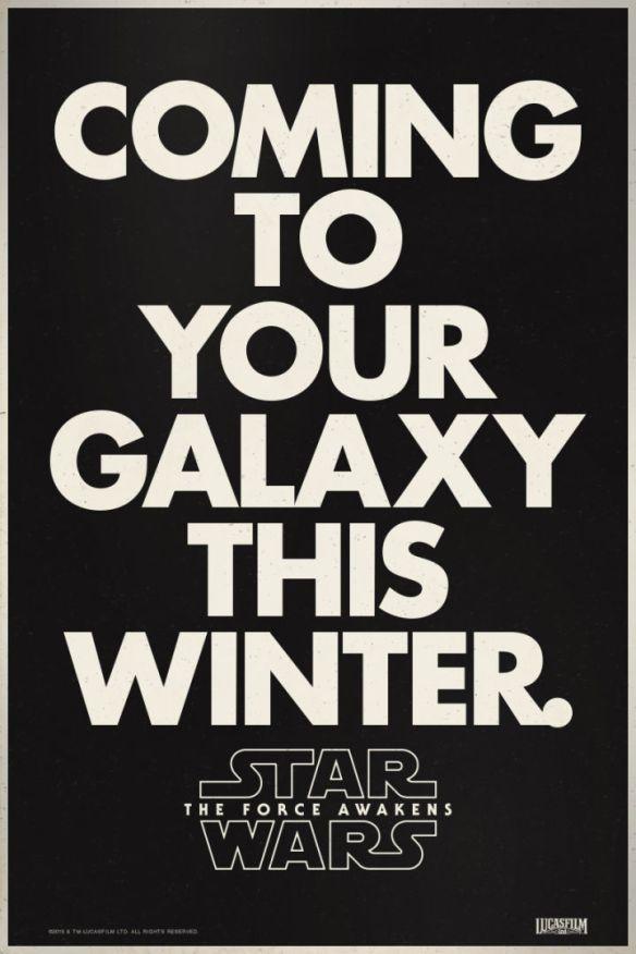star wars poster font