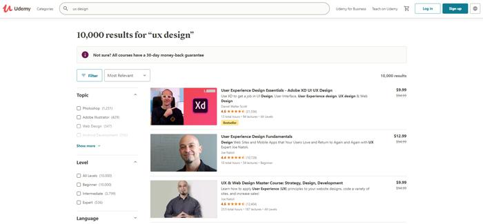learn ux design online udemy