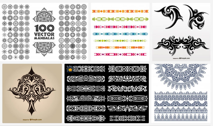 8 border design samples and how to use them ink tattoo border