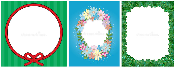 8 border design samples and how to use them inset frame border