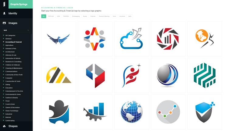 best free logo maker generators graphicsprings logo maker