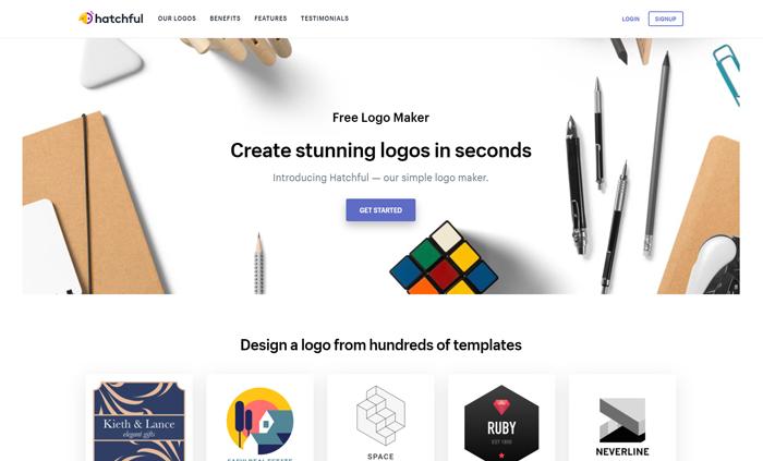 best free logo maker generators hatchful by shopify