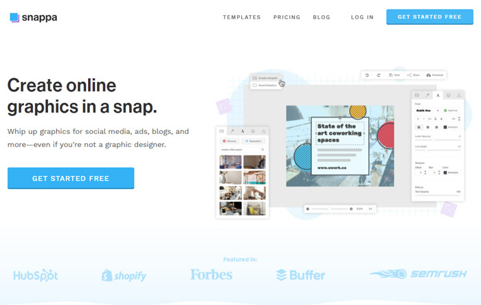 best infographics makers online snappa
