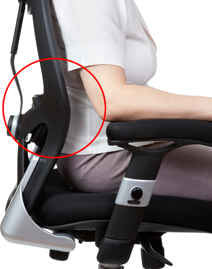 how to choose office chair lumbar support